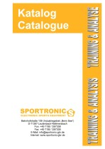 Katalog Training und Analyse