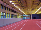 Sprint Diagnostics Measurement Track at Sports School of German Federal Armed Forces